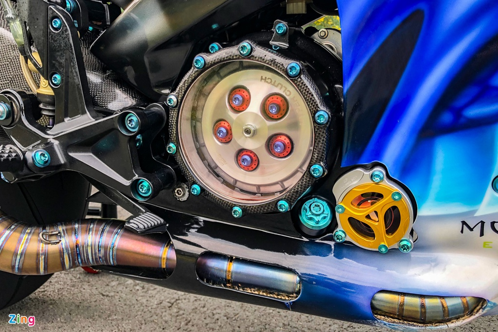 Yamaha Exciter do phong cach Ducati Panigale V4 anh 14