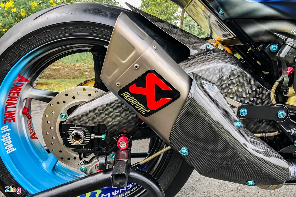Yamaha Exciter do phong cach Ducati Panigale V4 anh 15