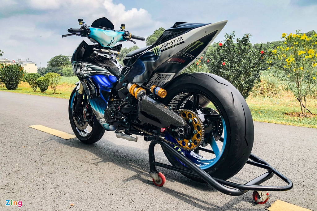 Yamaha Exciter do phong cach Ducati Panigale V4 anh 13