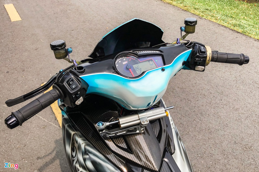 Yamaha Exciter do phong cach Ducati Panigale V4 anh 7